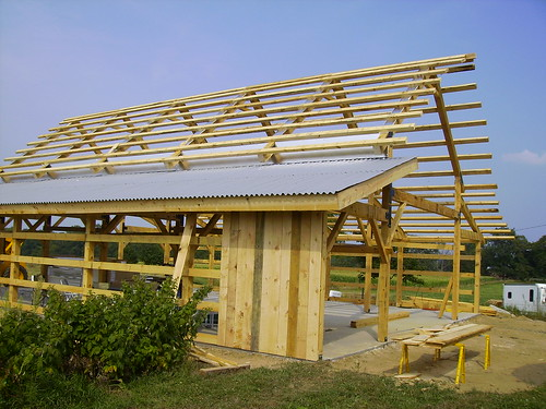 Open Pole Barn Plans Build it yourself pole barn
