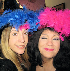 Me and Mom with the Hats!