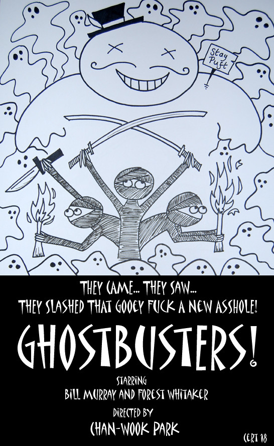 Design Challenge - Ghostbusters 5040001160_a0e767d44c_b