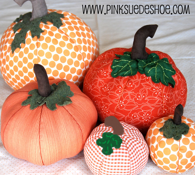 Fall Pumpkins Tutorial Pinksuedeshoe