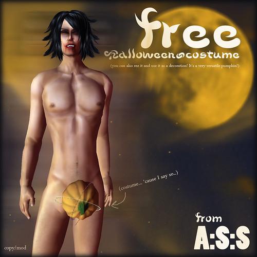 Free halloween costume!