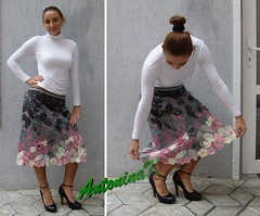 Pink-gray_skirt (antonina.kuznetsova) Tags: pink people flower wool motif crochet multicoloured skirt ukraine clothes freeform crocheting irishcrochet kherson crochetlace lacefreeform antoninakuznetsova