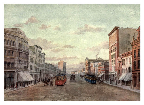 017-Una calle en Winnipeg-Canada-1907- Thomas Martin Mower