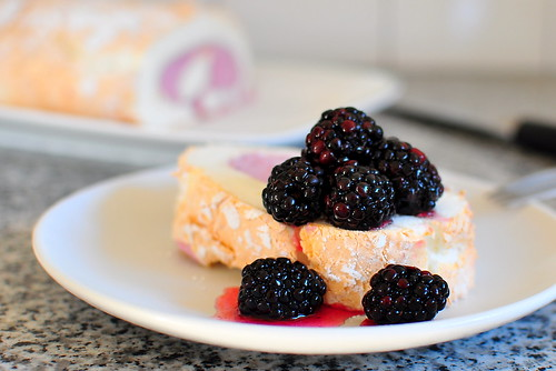 Martha Stewart's Black Berry Cloud Cake