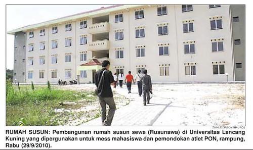 Rusunawa Universitas Lancang Kuning - Pekanbaru, Riau