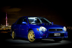 My STI (.:VisioNZ:.) Tags: car night flash version 7 automotive subaru wrx sti strobe v7