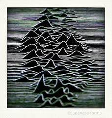 pulsar (japanese forms) Tags: polaroid graphicdesign dof bokeh fake faux joydivision polaroids pulsar petersaville unknownpleasures neutronstars poladroid cp1919 poladroids unknowntreasures ©japaneseforms2010 chrismathan nmarie