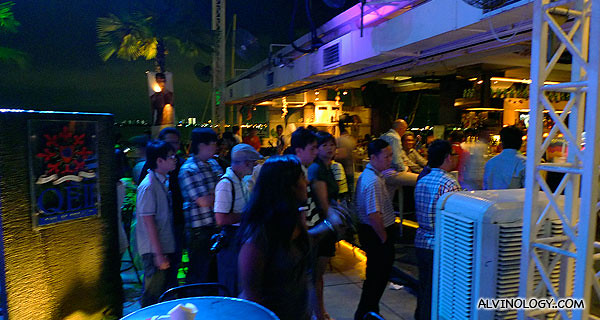 QEII was packed full of bloggers