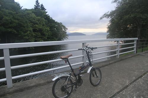 ソニーナビユーと釧路川源流をカヤックで下る