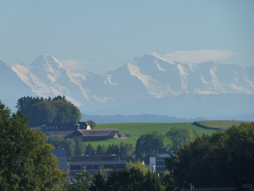 Swiss Alps seen from Feldbrunnen