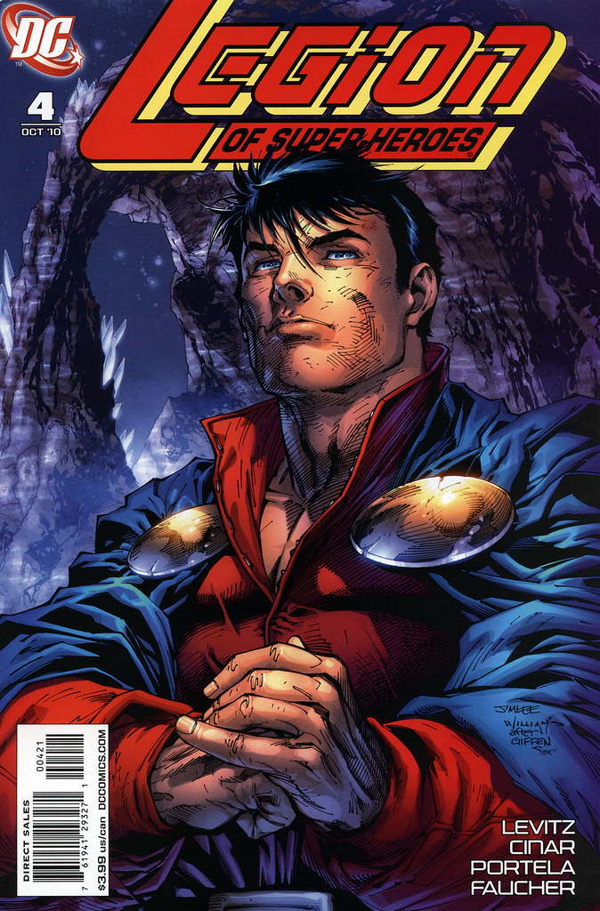 Legion of Super-Heroes 004 (2010) (Jim Lee Variant)