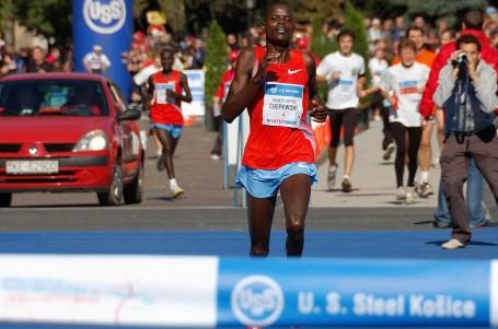 Košický maraton s výrazně vylepšeným traťovým rekordem