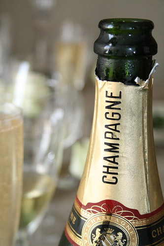 PFB Challenge # 3 Luxury Dinner Champagne