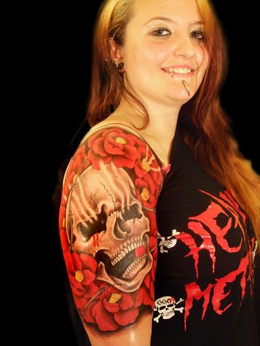 Flower Tattoos On Arm for Women