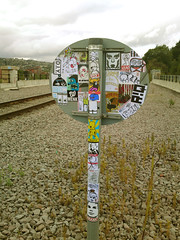 (Andalltha Superstickers!) Sheffield, England (Thierry Jaspart / Andalltha) Tags: hello street england bird art love illustration train bride diy is sticker do artist britain name sheffield great obey style it camo rails rise franck campaign yourself kona esoteric rq huggie wenk rise1 ceito andalltha superstickers nojoe wolofoto
