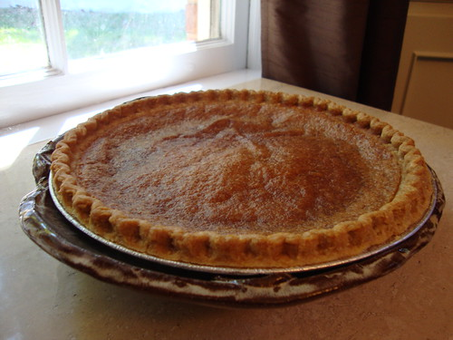 Suppernong Custard Pie