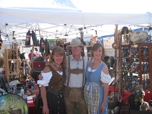Oktoberfest 2010 Grand Junction - Alpen Schatz Booth by Alpen Schatz - Mary Dawn DeBriae