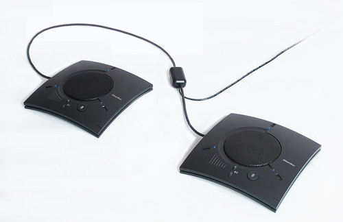 ClearOne Ships CHATAttach 150, 2-Piece USB Speakerphone System Allowing Instant Coverage Area Expansion with High Audio Quality
