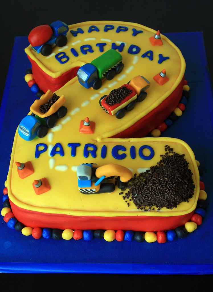 Tags: road birthday blue red 2 cute green beautiful yellow cake truck ...