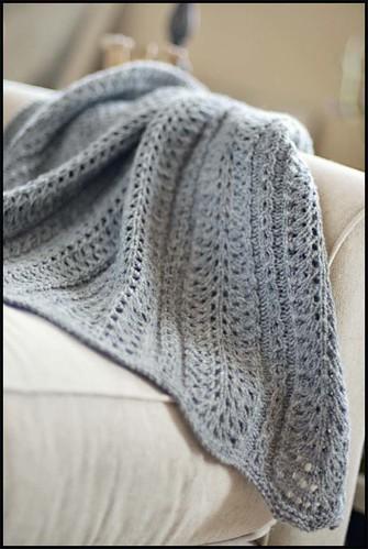 Shale Baby Blanket - Brooklyn Tweed