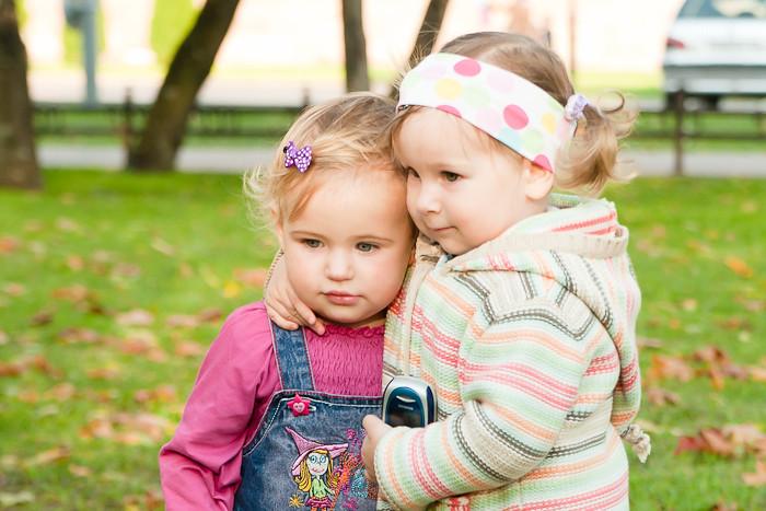 Детская фотография. Подружки