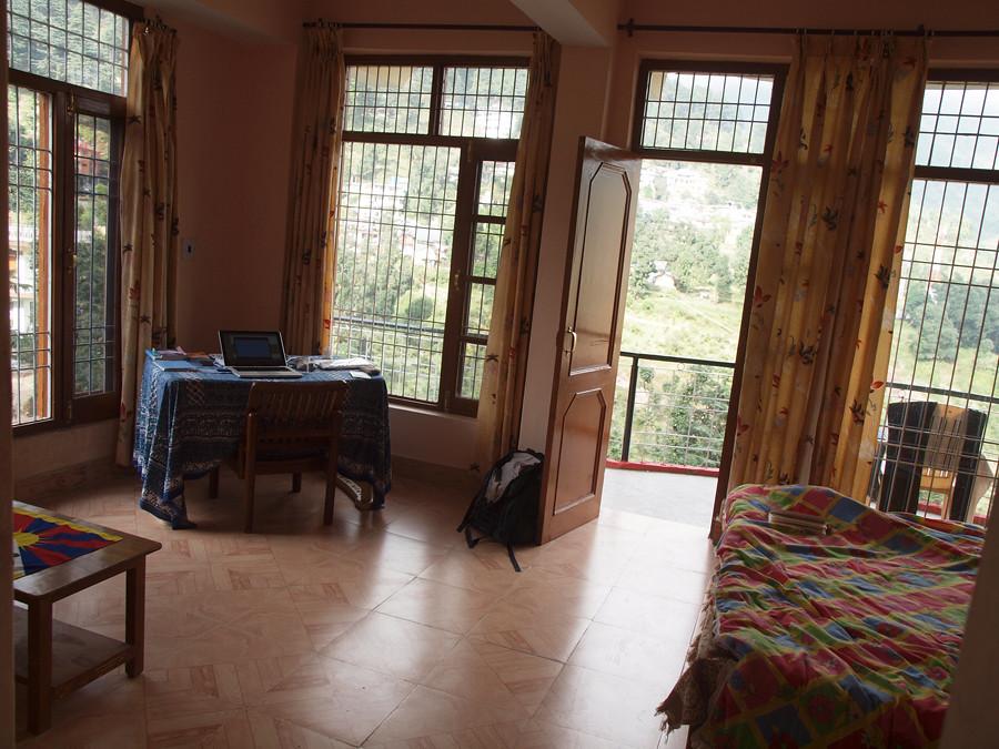My room in McLeod Ganj, Victoria House