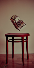 Levitating house (zacharyross) Tags: house nikon sweden levitation stool d5000