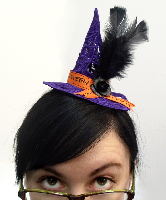 Lace Witch Hat