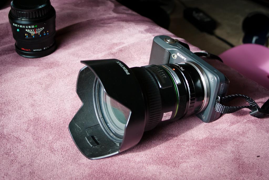 Sony NEX-3 Pentax 14mm f2.8