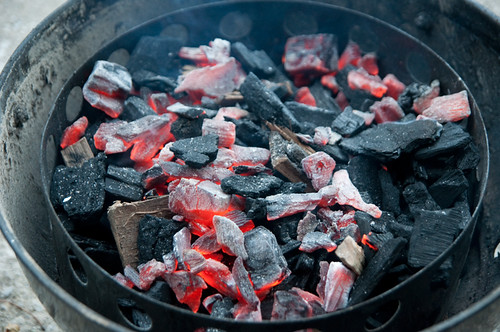 hot-coals-on-cold-coals-and-wood-chips