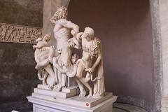 The Laocoon and His Sons著名的雕像《拉奥孔和他的儿子们》Vatican Museum梵蒂冈博物馆IMG_4578