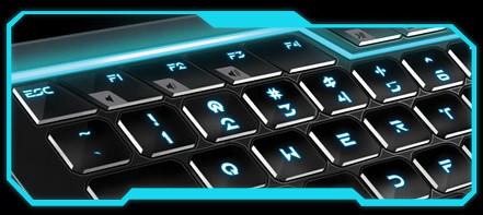 Tron Legacy Keyboard