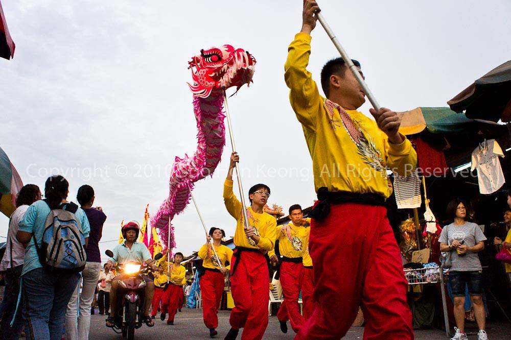 Dragon Dance @ Nine Emperor Gods Festival, Ampang, Malaysia