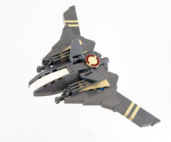 V-6 Sheath Bomber (Titolian) Tags: fighter lego space v sabre bomber sheath