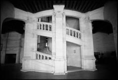 Chambord_07 (Chris Protopapas) Tags: sculpture france castle art architecture spiral nikon staircase dna chambord helix leonardo chateau loire renaissance nikons3 drumscanner visipix hells3900