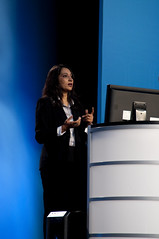 Nandini Ramani, JavaOne Keynote, JavaOne + Develop 2010, Moscone North