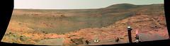 Three Human-Like Figures on Mars, One Giant Re...