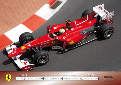 Ferrari 2011 Calendar