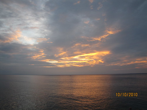 Sunset off West Okinawa