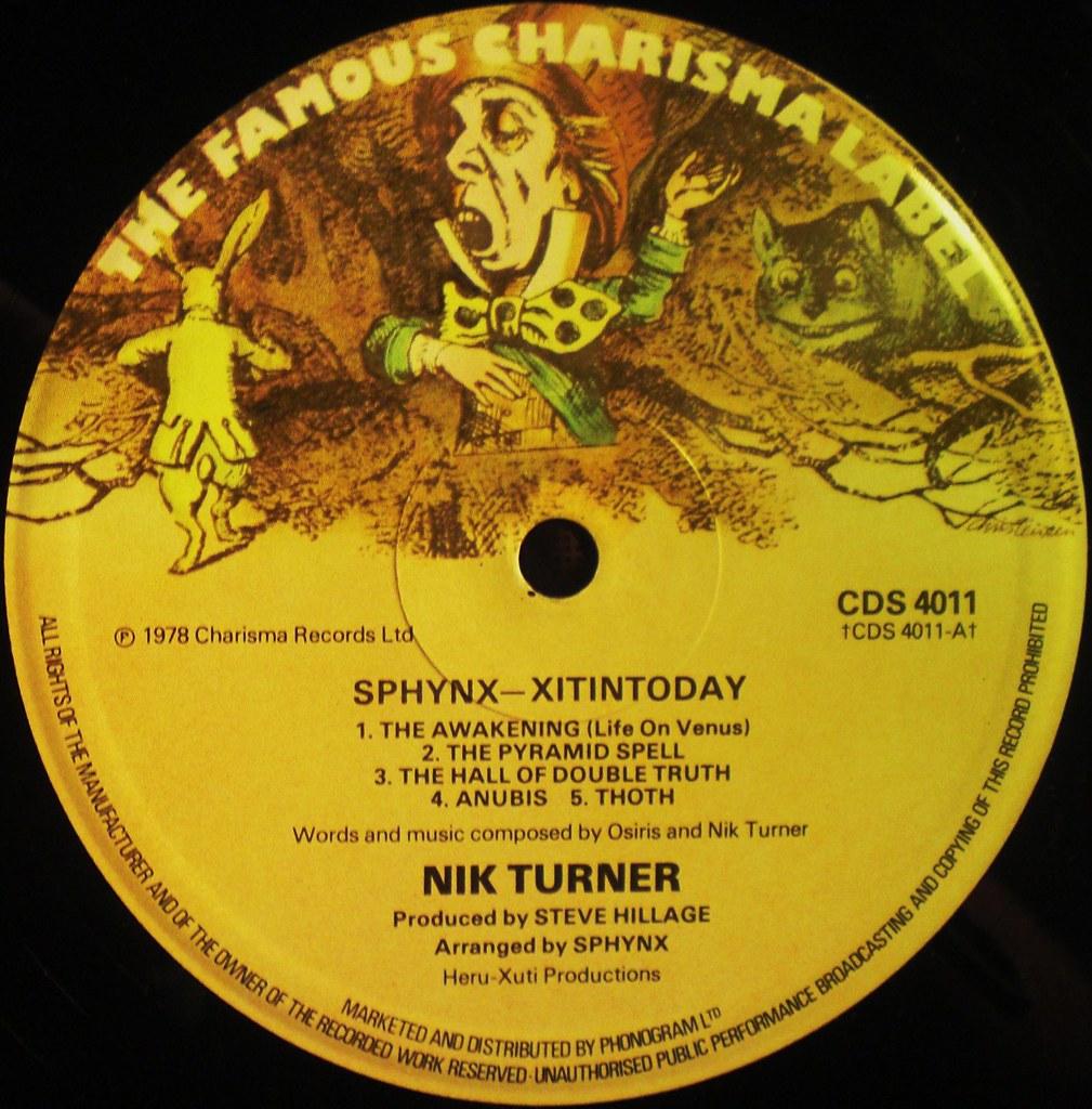 XITINTODAY by Nik Turner's Sphinx label