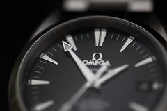 marcando la hora (Fermaker) Tags: watches omega relojes aquaterra ef100mmmacrof28