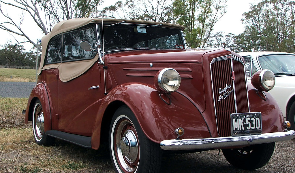 1948 Ford Anglia Convertible
