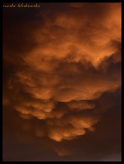 MAMMATUS ABOVE JERUSALEM -    (moshek70) Tags: sky cloud weather clouds sunrise dawn israel jerusalem   mammatus      olympussp590 cloudsstormssunsetssunrises