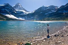Slice of Heaven (Jeff Pang) Tags: blue lake glacier banff britishcolumbiaus