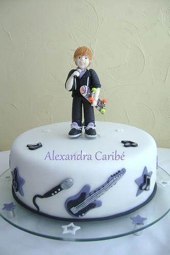 justin bieber cake images. Bolo Justin Bieber - Justin