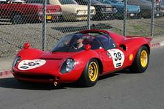 Ferrari Dino 206 S (1964) (Herve Tainturier) Tags: dino ferrari lemans lemansclassic