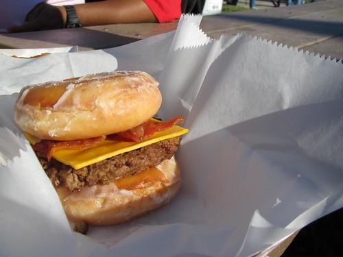 Krispy Kreme Burger