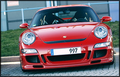 Red 997 GT3 (R.Arends) Tags: blue red orange white cup club silver germany grey movement low 911 porsche tt gt panning circuit 944 gt2 oranje duitsland assen 996 gt3 993 968 997 924 gt1 ttassen gt3rs porscheclub explored gt2rs clubcup
