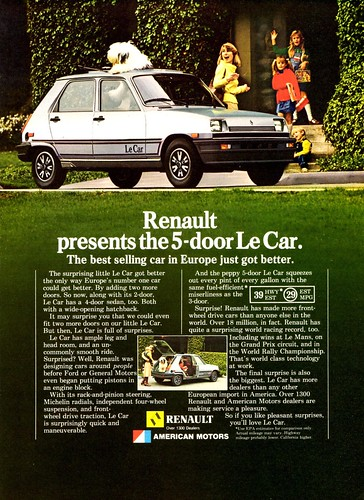 1981 Renault Le Car 5-Door by aldenjewell