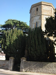 Octagonal church tower